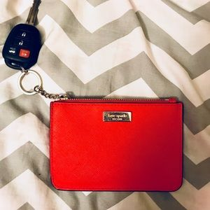 KATE SPADE keychain wallet (PERFECT CONDITION)